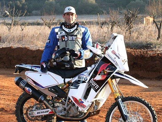 El piloto del Dakar Pellicer, correrá la Panafrica 2011