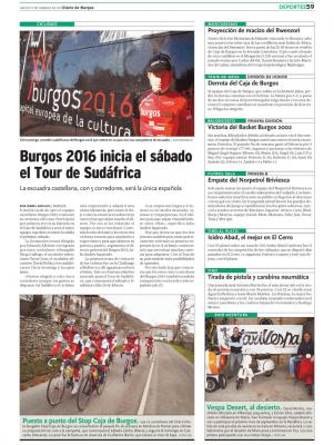 Diario de Burgos habla de nosotros