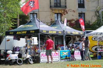 VespaDesert estuvo en el enduro de Loma de Montija en Burgos en el stand de nuestro sponsor, Mataran Racing