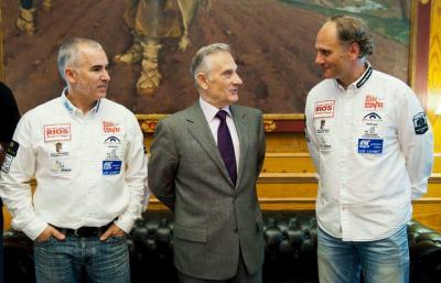 Éxito en la presentación del equipo en la Diputación de Burgos ante mas de una docena de medios de comunicación