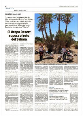 Publicado en el Correo de Burgos El Mundo