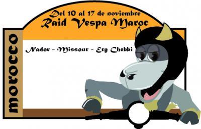VespaDesert en el Raid Vespa Maroc 2012