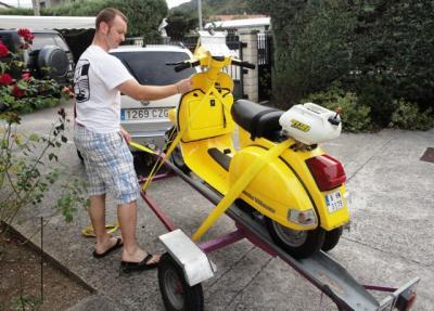 VespaDesert ya tiene nuevo piloto para sustituir Ferran Silva